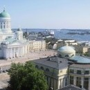 Centro de Helsinki. Catedral Luterana.